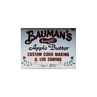 Bauman's Pennsylvania Dutch Apple Butter and Cider