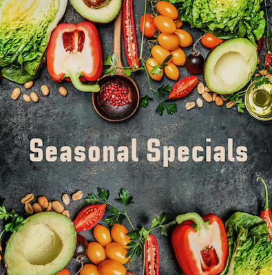Holiday and Seasonal Specials